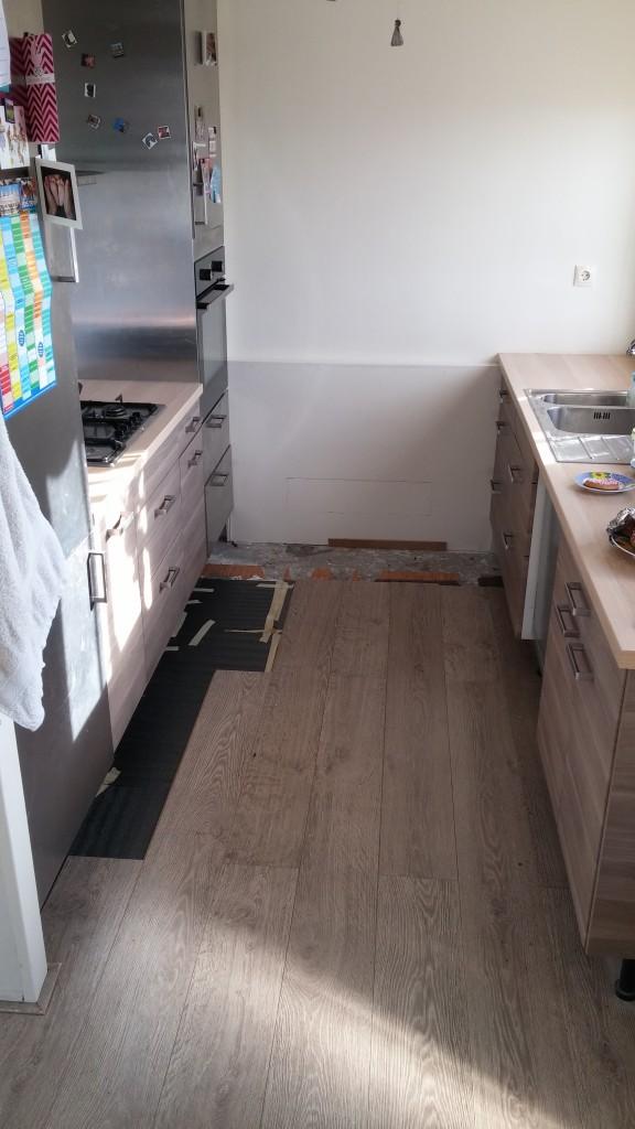 Keukenvloer voor